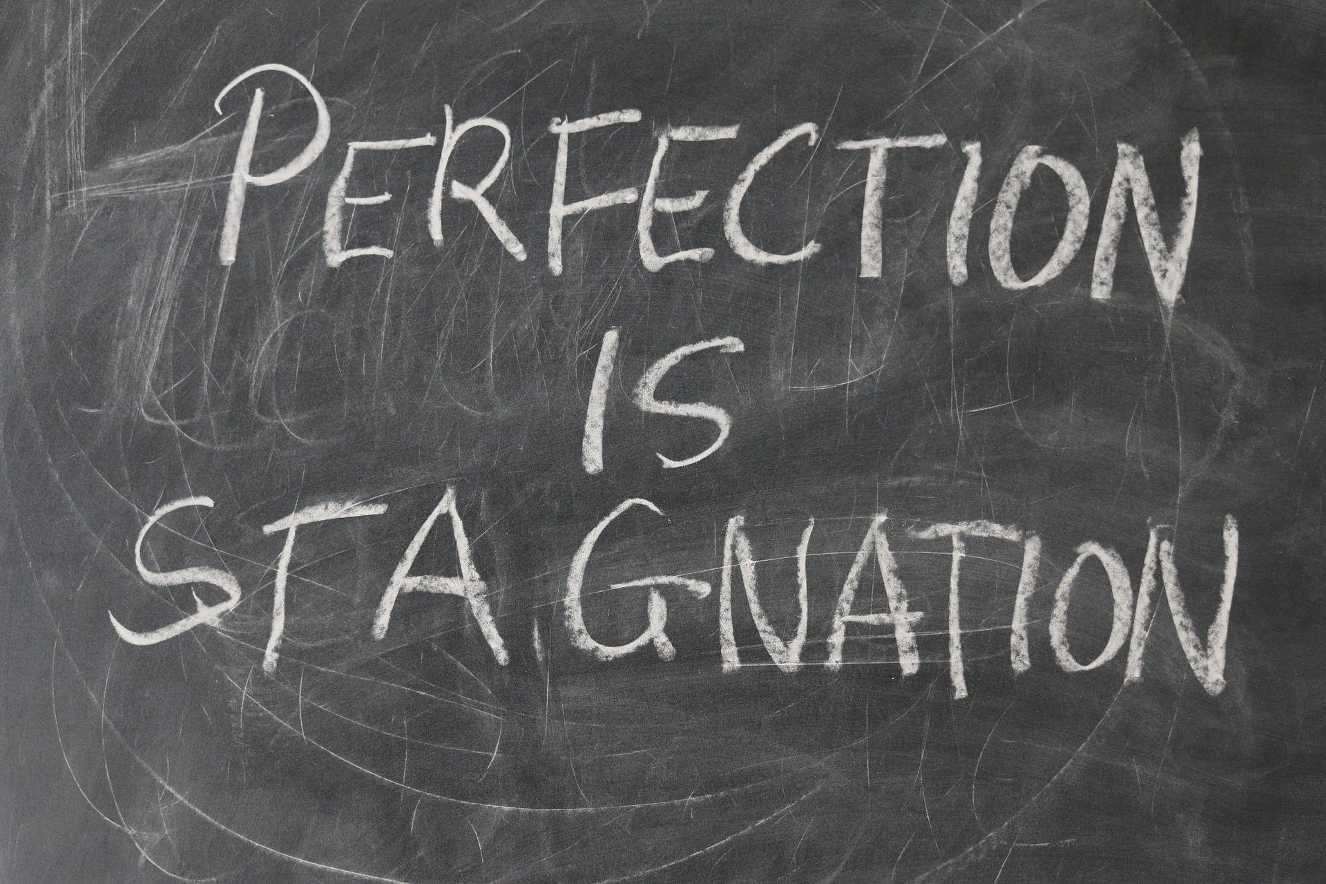 Il voler essere sempre perfetti ci fa perdere tempo o ce lo fa guadagnare?